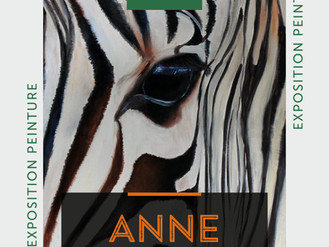 14 Dec ❗️🎨 Vernissage Anne Dussaux