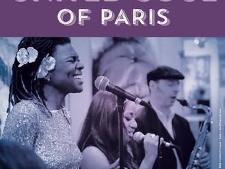 "10 Nov. ♪ Concert ""Soul United Of Paris"" ♪"