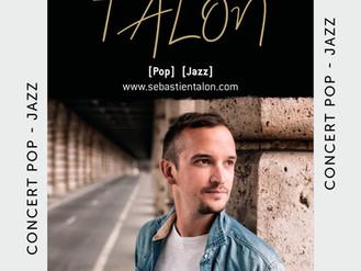 24 Nov. ♪ Concert Sébastien Talon ♪