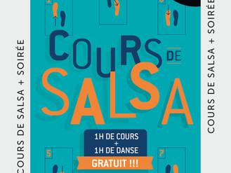 20 Sept. ** Cours de Salsa **