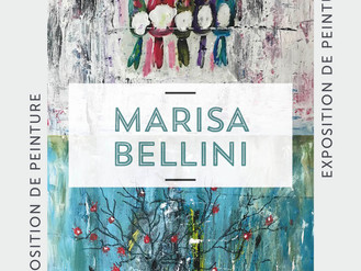 12 Septembre  🎨 Vernissage Marisa Bellini 🎨