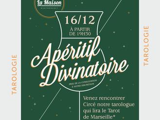 16 Déc. ♣ Soirée tarot de Marseille ♣