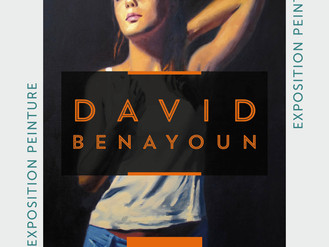 16 Nov ❗️🎨 Vernissage David Benayoun