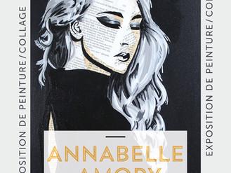 04 Juillet  🎨 Vernissage Annabelle Amory 🎨