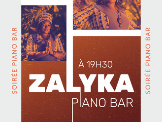24 Nov. ♪ Piano Bar avec Zalyka♪