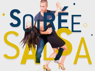 """31 Déc. ♪ Soirée salsa du Nouvel An"""" ♪"""