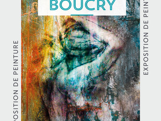 12 Avril. 🎨 Vernissage Hugues Boucry