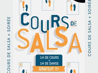 29 Nov. ** Cours de Salsa **