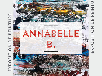 10 Jan. 🎨 Vernissage Annabelle B. 🎨