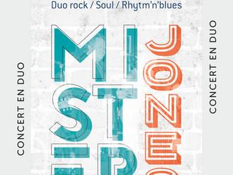 27 Oct. ♪ Concert Mister Jones ♪