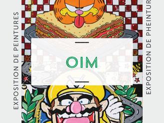 07 Novembre  🎨 Vernissage Oim 🎨