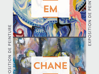 08 Mars. 🎨 Vernissage EM / CHANE