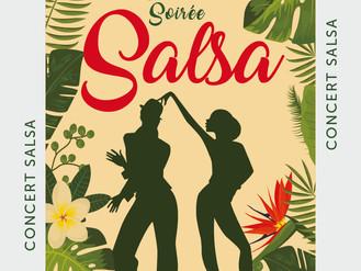 30 Sept. ♪ Soirée Salsa ♪