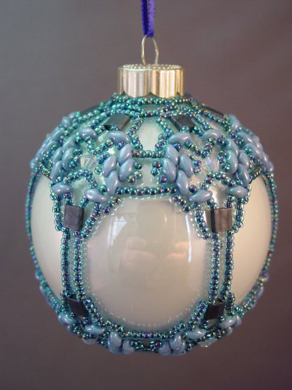 Boxing Day Beaded Ornament PDF Pattern Tutorial