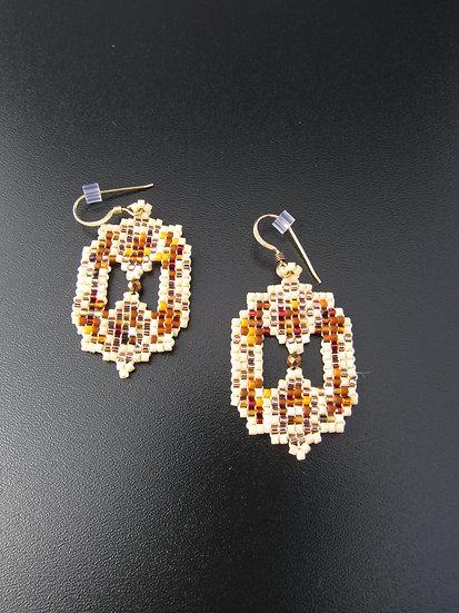 Autumn Colored Earrings