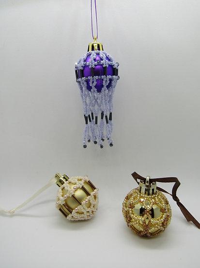 Mini Ornament Collection #2 PDF Pattern Tutorial