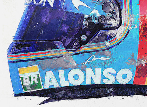 F1 Art - Affordable F1 art with only 50 of each print available