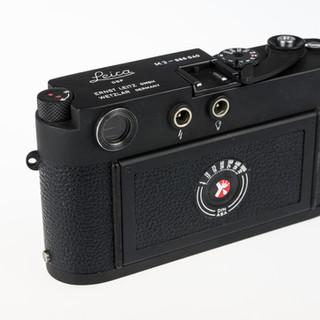 Leica M3 in Black Firearm Finish