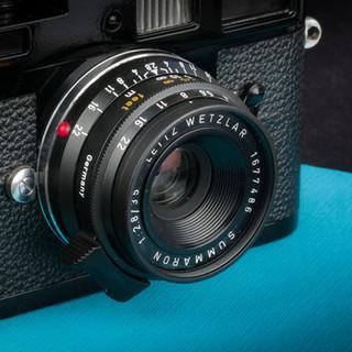 35mm Summaron Lens Repaint