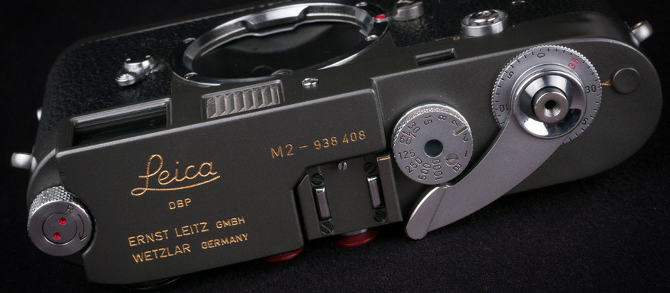 Australian Leica M2 Goes Grey Gracefully...