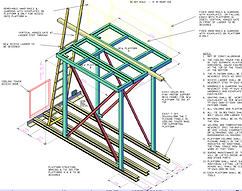 Cooling Tower Fan & Motor Maintenance Platform