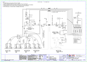 Chemical batching system P&ID