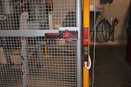 Safety perimeter guarding  gate interlock
