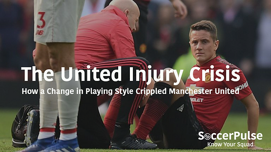 The United Injury Crisis: How a Change in Playing Style Crippled