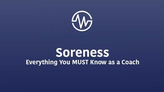 Soreness   Everything You MUST Know As a Coach