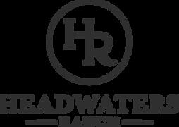 Headwaters Ranch Logo Black - Ashley Gut