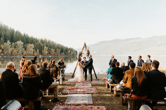 Britany + Chris: A fall wedding in Whitefish