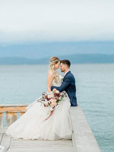 Dreamy Flathead Lake Wedding | Kiera + Benjamin