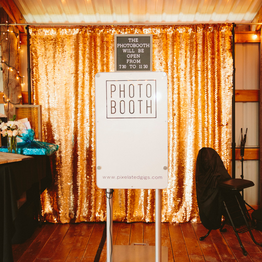 Pixelated Photo Booth Gigs
