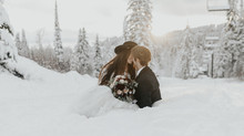 Gorgeous + timeless winter bridal style