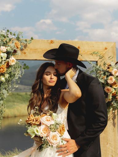 Cowboy Wedding in Paradise Valley: Kira + Kelsey