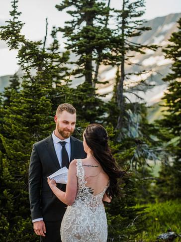 Stunning Sunset Elopement in Glacier park | Mikayla + Mathew