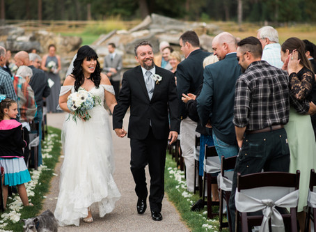 Brenda & Brian: A themed wedding at The Silver Knot