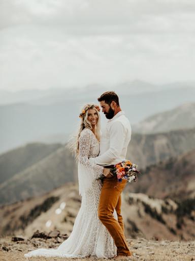 Boho Bozeman Mountain Wedding | Sarah + Sam