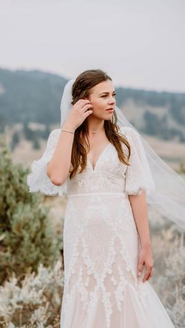 VINTAGE-INSPIRED WEDDING IN BIG SKY