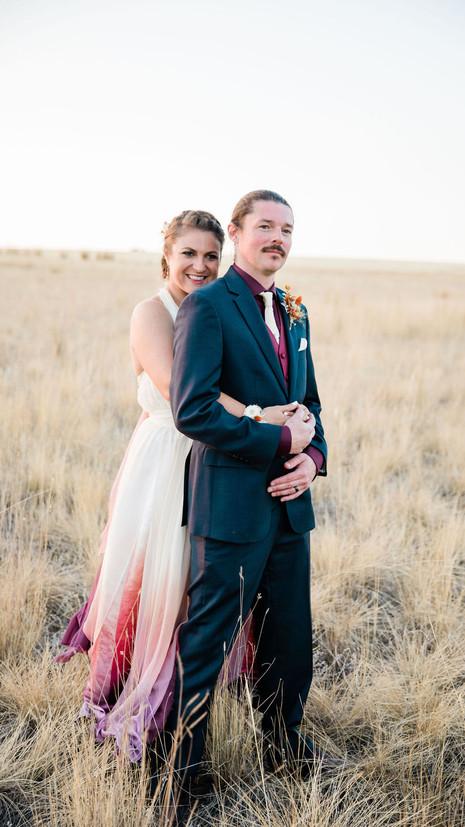 Fun & Flirty Wedding at foster creek farm | Alixandra + Arthur