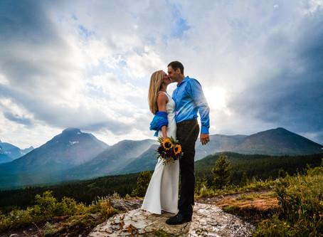 Carrie & Zach: A Glacier National Park Elopement