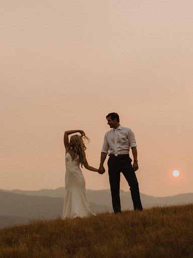 Intimate Missoula Summer Wedding | Britt + Nick