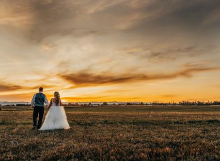 Erin & Greg: A gorgeous Montana fall wedding