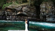 Anna & Seth: A beautiful summer wedding in West Glacier
