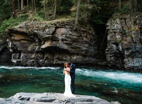 Anna & Seth: A beautiful summer wedding in West Glacier