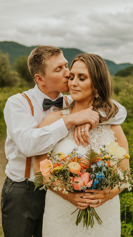 Summer Wedding in Whitefish With Sweet Details