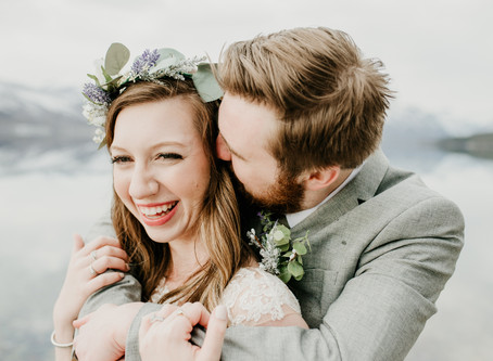 Krista + Peyton: A Spring Glacier National Park elopement