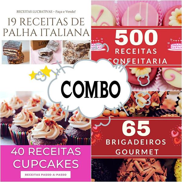 500 Receitas de confeitaria, Receitas de brigadeiro gourmet, receitas de cupcake, curso de brigadeiro gourmet, brigadeiro lucrativo, confeitaria lucrativa