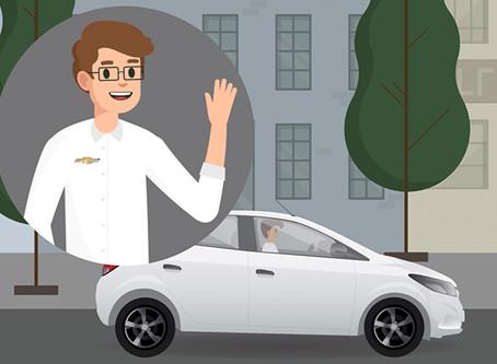 Animação: solução para informativo da Chevrolet Amantini