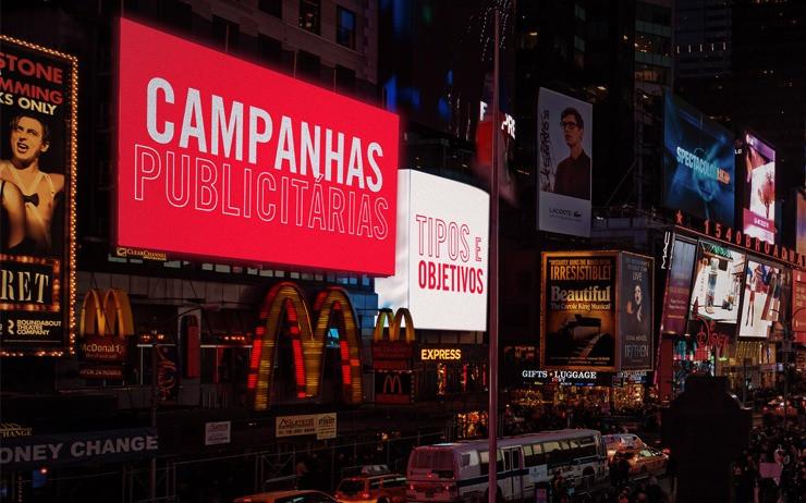 Campanhas publicitárias - tipos e objetivos